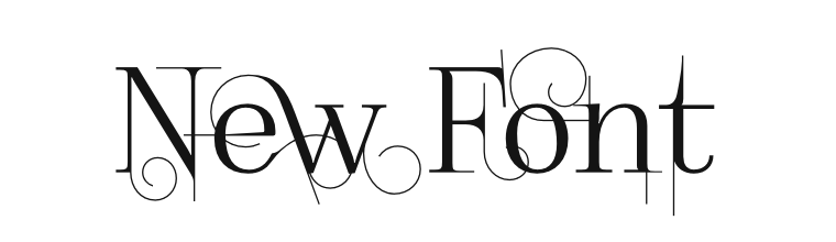 font Foglihten No04 by gluk spec1