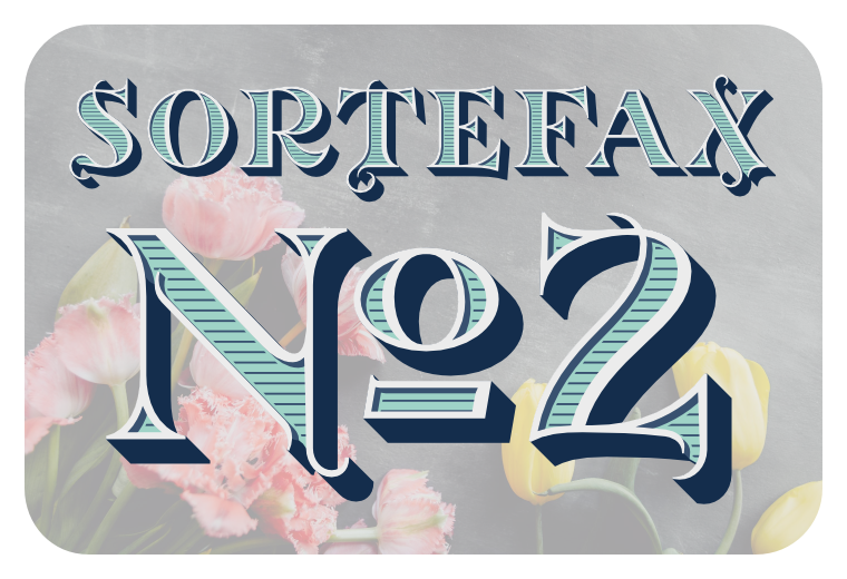 Font SortefaxNo2 made by gluk