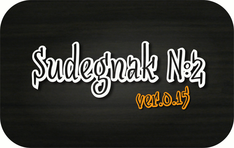 Font SudegnakNo2 made by gluk