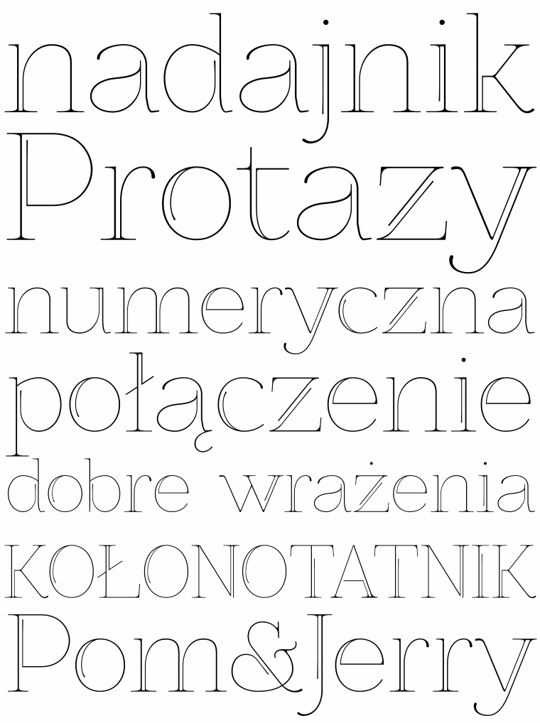 decorative font ZnikomitNo25 by gluk