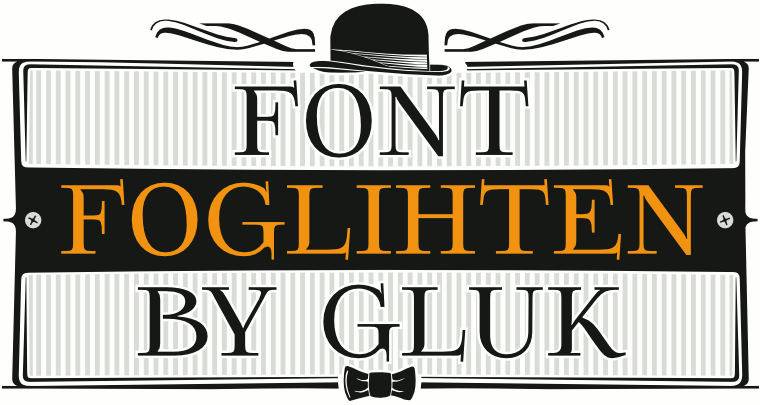 Font Foglihten made by gluk