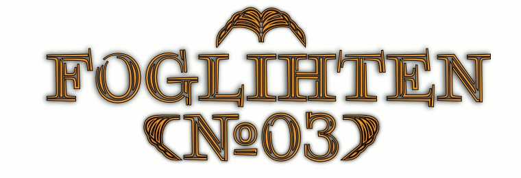 Font FoglihtenNo03 made by gluk