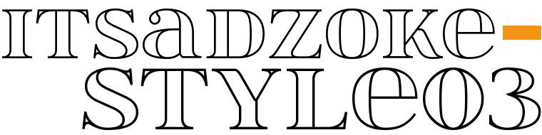 Font ItsadzokeS03 made by gluk
