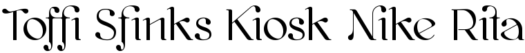 Font Kawoszeh with ligatures